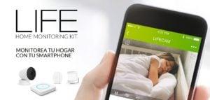 KIT DE SEGURIDAD PARA EL HOGARTLC LIFE KIT HOME MONITORING 24