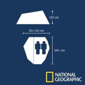 CARPA National Geographic AUGUSTA II 2 PERSONAS CON AVANCE 5