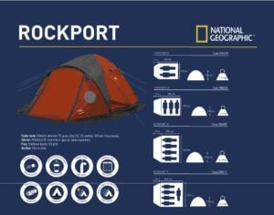 CARPA National Geographic IGLU ROCK PORTV 5 PERSONAS C/SOBRETECHO 6
