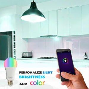 Bombita de Luz LED 9W Wifi Inteligente IVIEW SMART 12