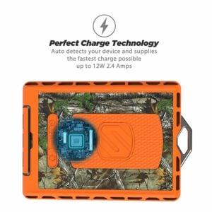 POWERBANK SCOSCHE GoBat ™ 6000 Realtree®, cargador portátil y batería de respaldo Impermeable 6000MAH 10