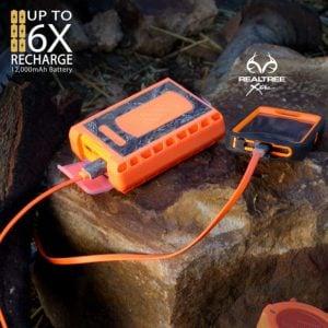 POWERBANK SCOSCHE GoBat ™ 6000 Realtree®, cargador portátil y batería de respaldo Impermeable 6000MAH 6