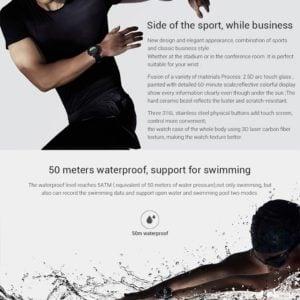 RELOJ Xiaomi SMART HUAMI AMAZFIT STRATOS 42