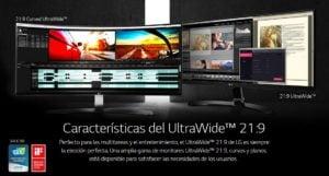 "MONITOR LG 34"" 34UM88-P LED-IPS UXGA ULTRAWIDE QUAD HD 5"