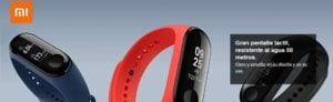 RELOJ XIAOMI SMARTWATCH MI BAND3 BLACK 10