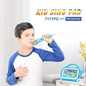 "Tablet para niños iView Sing Pad de 7"" 14"