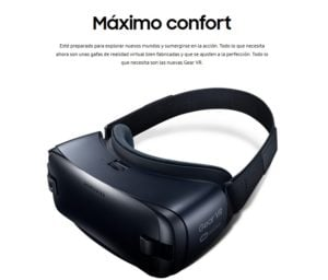 SAMSUNG GAFAS DE REALIDAD VIRTUAL GEAR VR323 HEADSET 11