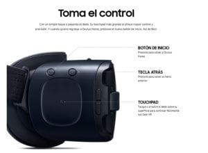 SAMSUNG GAFAS DE REALIDAD VIRTUAL GEAR VR323 HEADSET 14