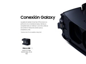 SAMSUNG GAFAS DE REALIDAD VIRTUAL GEAR VR323 HEADSET 15