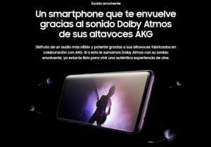 """CELULAR SAMSUNG GALAXY S9 5.8""""/128GB 32"""