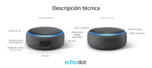 AMAZON - PARLANTE INTELIGENTE ECHO DOT (3RA GENERACIÓN) 13
