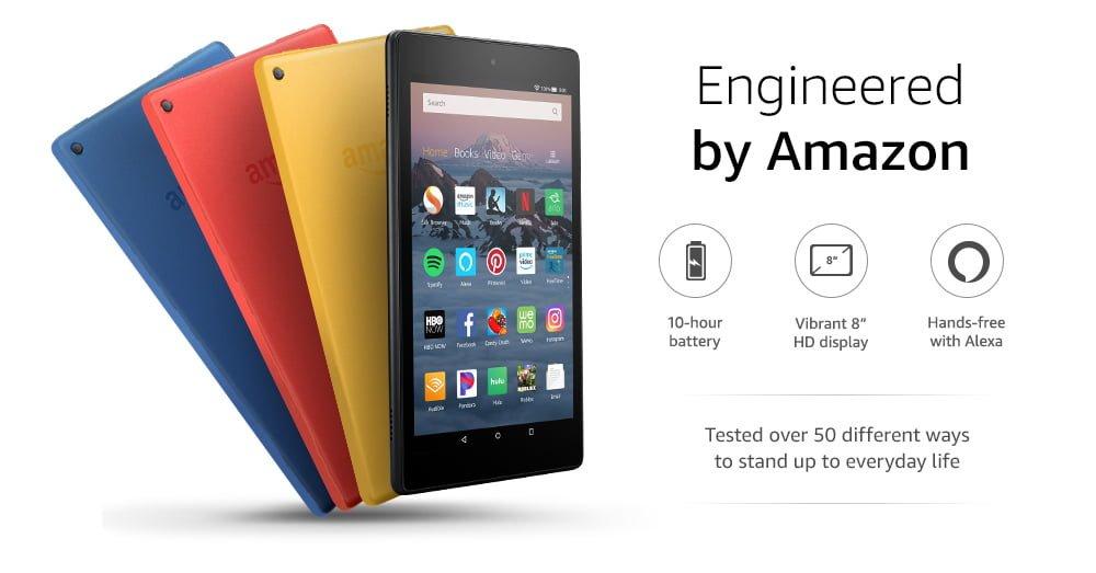 "AMAZON - Tablet Fire HD 8 16GB - 8"" 50"