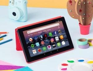 "AMAZON - Tablet Fire HD 8 16GB - 8"" 52"