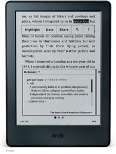 "Amazon - Kindle Paperwhite Lector electrónico de 6""de alta resolución 16"