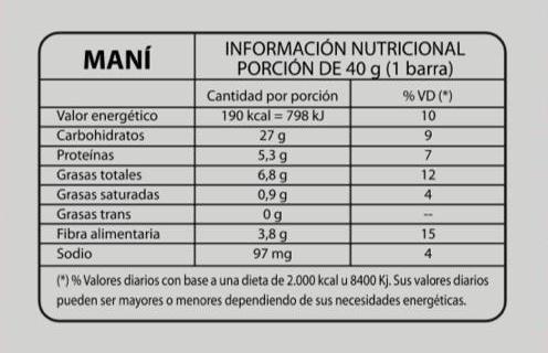 Caja 18 Unidades de Barras de Cereales FIT sin Azucar ni conservantes 9