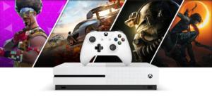 """CONSOLA Xbox One S 1TB """"El mejor valor en juegos y entretenimiento"""" 47"""